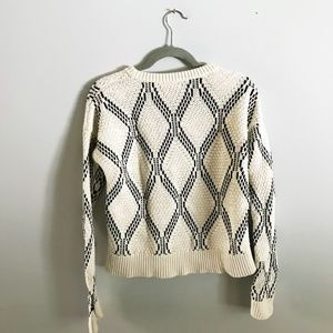 Banana Republic Factory Sweaters - Black and White Chunky Sweater